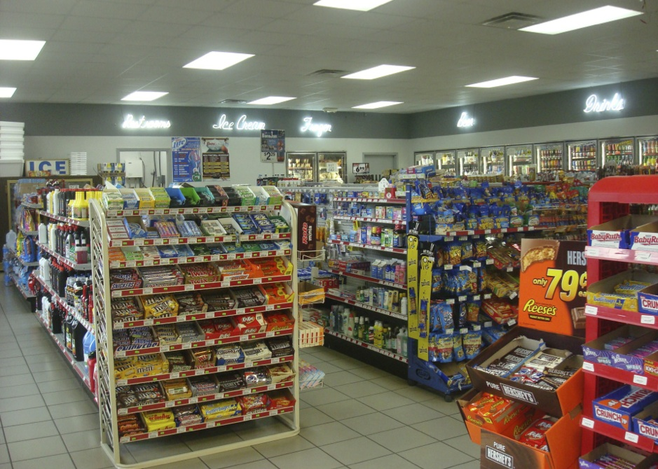 Led Lighting Convenience Store Images
