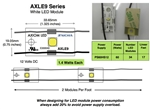 AXLE9-SW65 White LED for Sign Lighting (120 lumen)