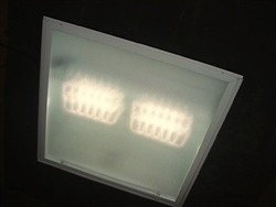 Beauty White 4000 Kelvin LED Retrofit Kit for 2x2 Foot Fluorescent Troffer