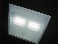 Daylight 5000 Kelvin LED Retrofit Kit for 2x2 Foot Fluorescent Troffer