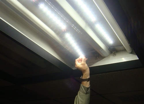 High Efficacy 2X4 LED Retrofit Kit for Fluorescent Troffers in ...